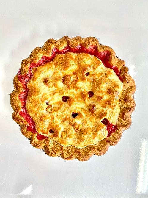 9 Inch Strawberry Rhubarb Pie