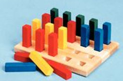 8179  -  PEGBOARD With Square  Pegs