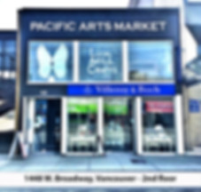pacific arts market local artists