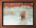 Reveries Oil on Canvas 24x18 Framed.JPG