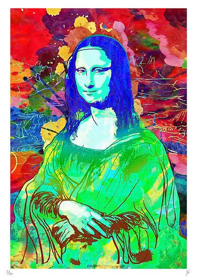 Vincent Sabatier - Mona Lisa 2