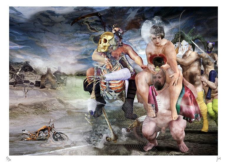 Lionel Morateur - Les guerriers de l'Apocalypse