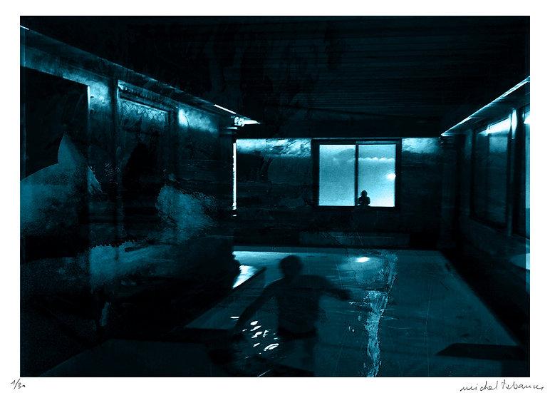 Michel Tabanou - Autoportrait au bain