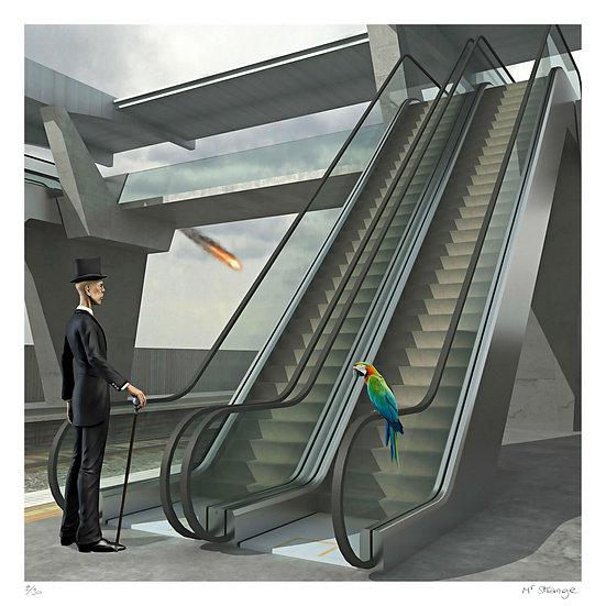 Mr Strange - Les Escaliers Mécaniques
