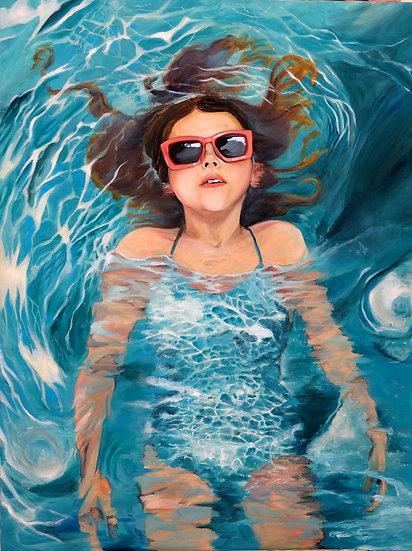 Maude Ovize - Portée par les eaux