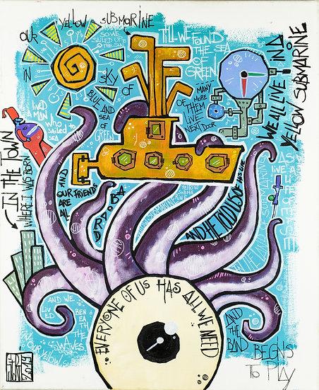 Yohan Storti - Yellow submarine