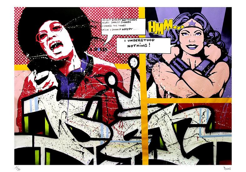 Don - Angela Davis vs Wonder Woman