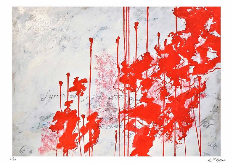 Richard Saint-Amans - Rouge 3