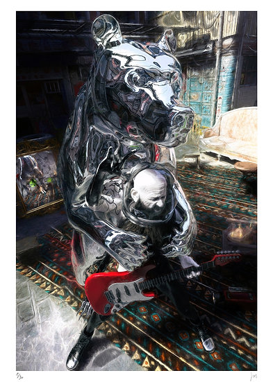 Lionel Morateur - Speculum animalibus - Le montreur d'ours