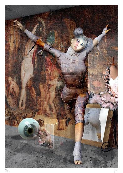 Lionel Morateur - Portraits en quête de modèles - Gwendoline