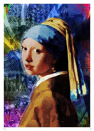 Vincent Sabatier - La jeune fille à la perle