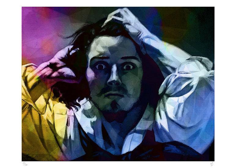 Vincent Sabatier - Le désespéré - Courbet