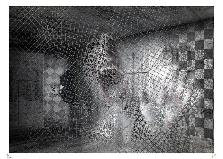 Lionel Morateur - Les carreaux noirs et blancs