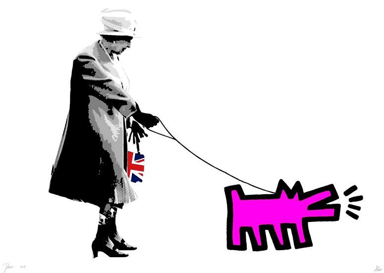 Queen Dog Pink