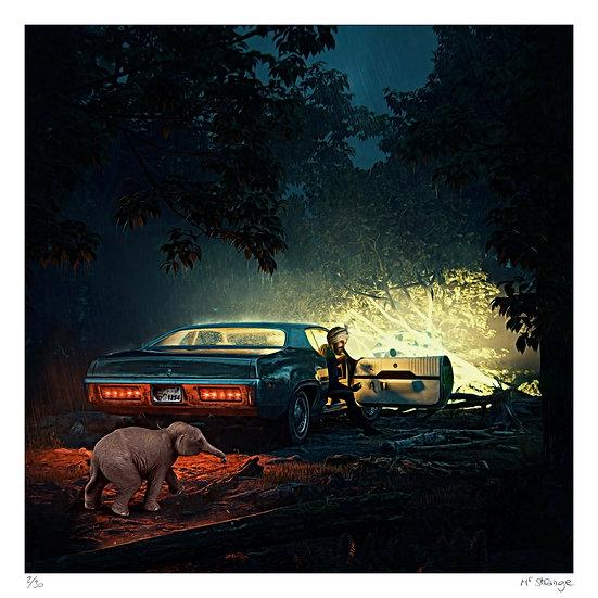 Mr Strange - Bombay by night