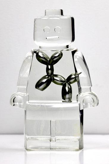 Vincent Sabatier - Roboclusion - Koons Silver