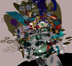 Artistes numériques Art moderne  Art plastique art engagé  artiste contemporain  Galerie d'art conte