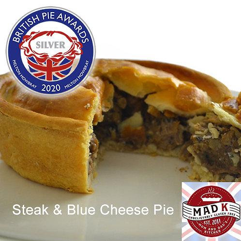 Steak & Blue Cheese pie