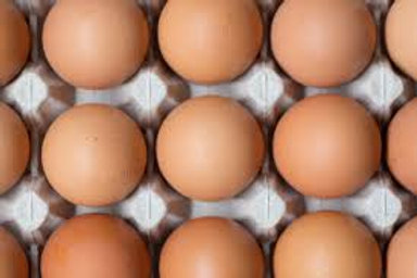 Jumbo free range eggs