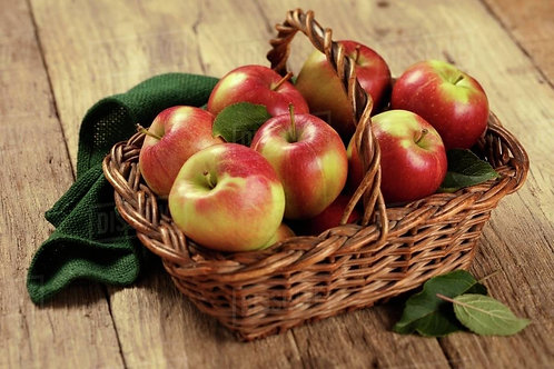 British Braeburn apples