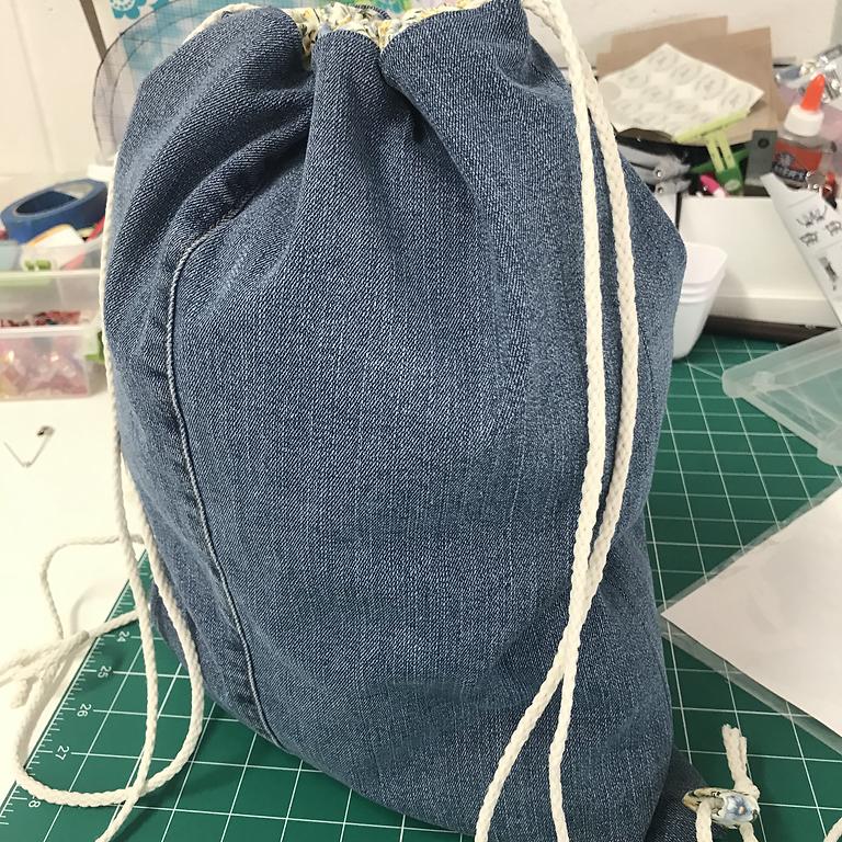 Blue Jean Back Packs