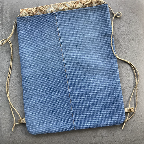 Upcycled Bluejean Backpack