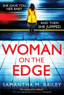 Woman on the Edge cover Samantha M. Bailey review giascribes