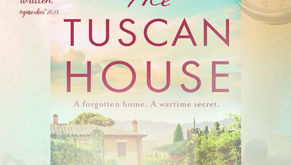 The Tuscan House by Angela Petch. A forgotten home. A wartime secret.