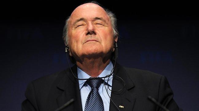 5 time FIFA President Sepp Blatter