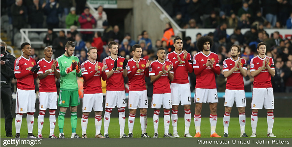 Manchester United Match Day Squad Versus Newcastle United