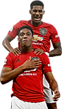 Anthony Martial & Marcus Rashford - Foot