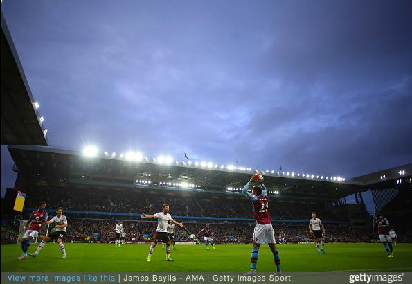 Manchester United at Aston Villa wide shot | James Baylis AMA