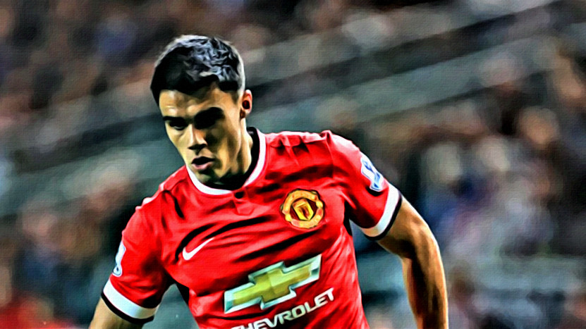 Manchester United LB James Reece