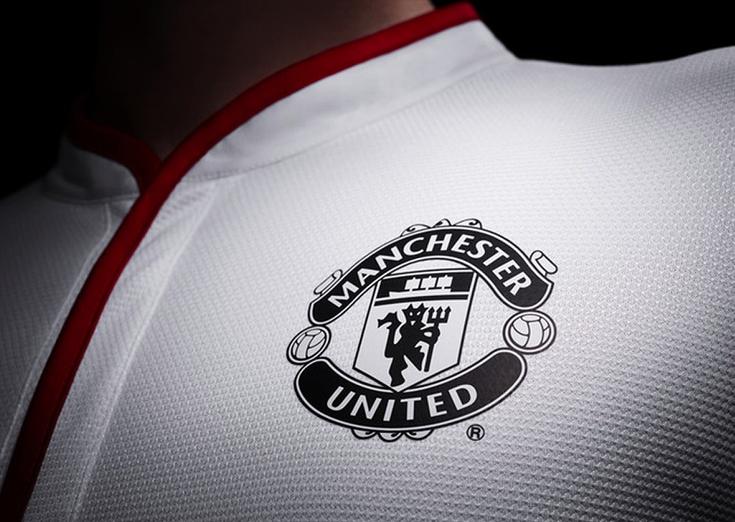 Manchester United White Logo