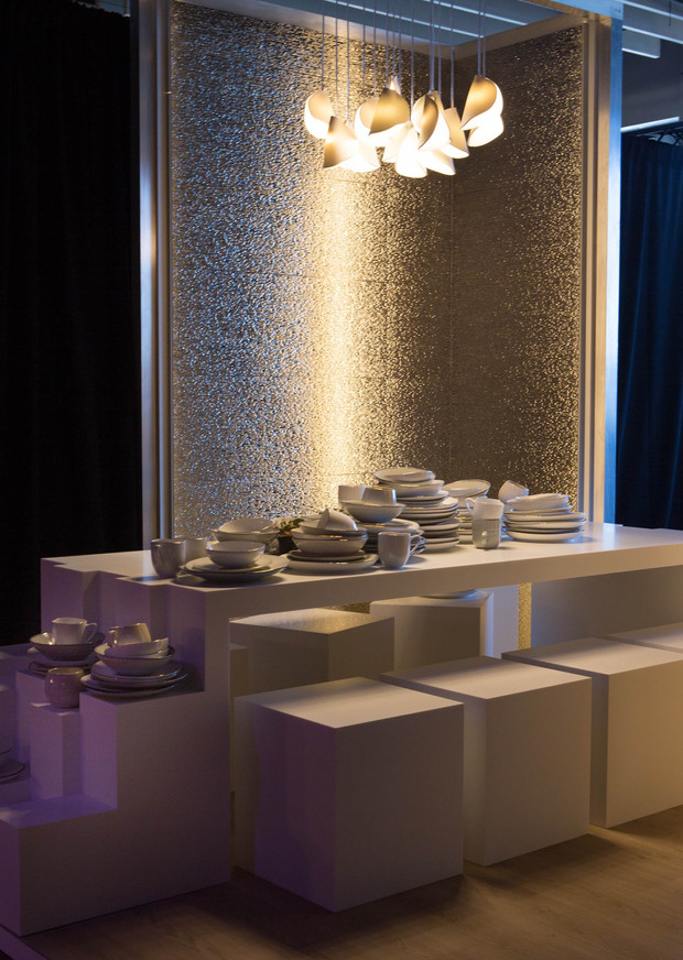 Sawyer & Company x Porcelanosa at DIFFA, Dining by Design in New York City