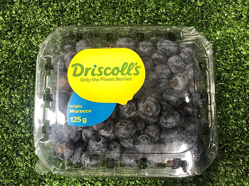 Fresh Blueberries per 125grm