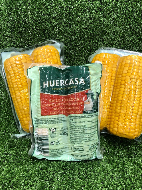 Vac Packed Sweetcorn twin pack (400grm)