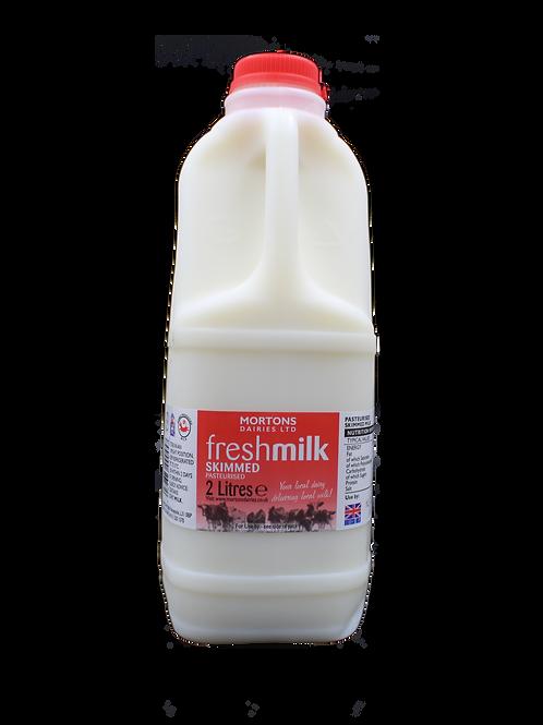 Skimmed Milk (2 Litre)