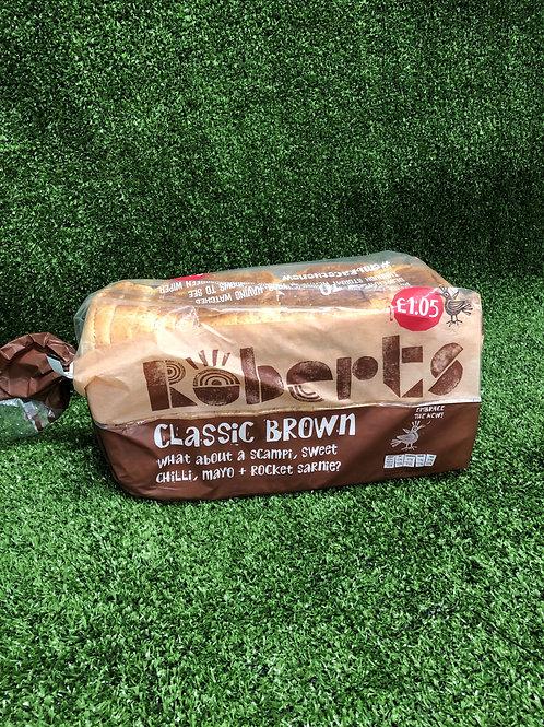 Brown Bread 800g Loaf Roberts Sliced