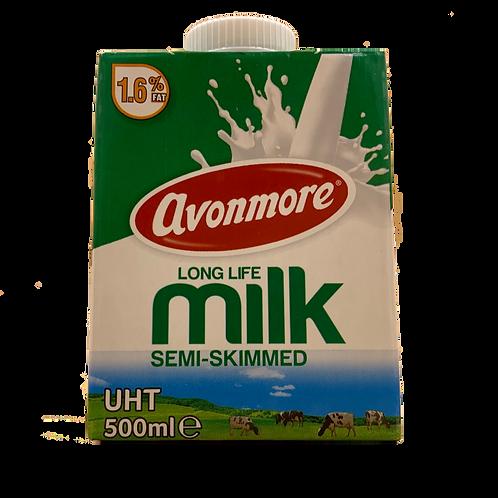 UHT Semi Skimmed Milk (500ml)