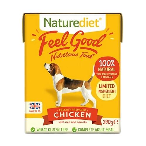 Naturediet Feel Good Adult Chicken - 18 x 390g