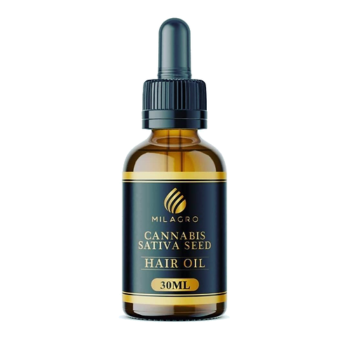 Milagro Hemp Sativa Seed Hair Oil - 30ml