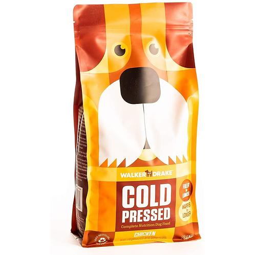 Walker and Drake Cold Pressed Dry Dog Food - Chicken 10kg