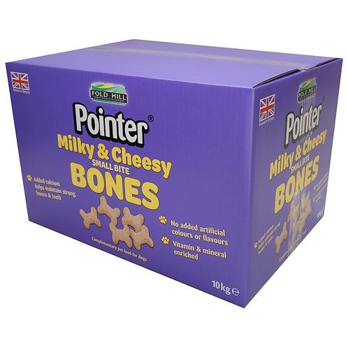 Pointer Milky And Cheesy Small Bite Bones - 10kg