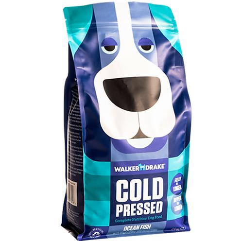 Walker and Drake Cold Pressed Dry Dog Food - Ocean Fish 2kg