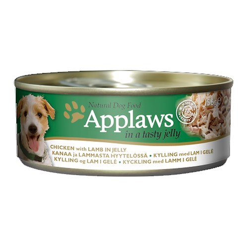 Applaws Dog Chicken with Lamb in Jelly - 12x156g Tins