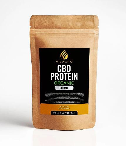 Milagro Hemp Organic Protein Powder - 500mg