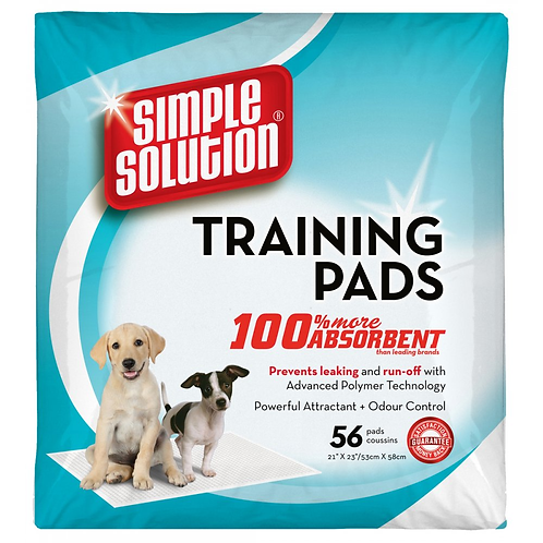 Simple Solution Puppy Training Pads - 56 pack