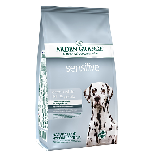 Arden Grange Adult Sensitive White Fish 6kg