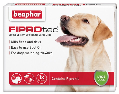Fiprotec Flea and Tick Treatment for Large Dogs